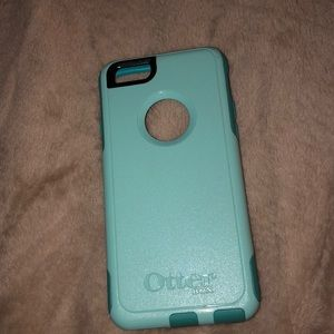Otter box iPhone 6/6s turquoise case